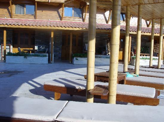 Ortaca, Turquía: shaded sunbathing area