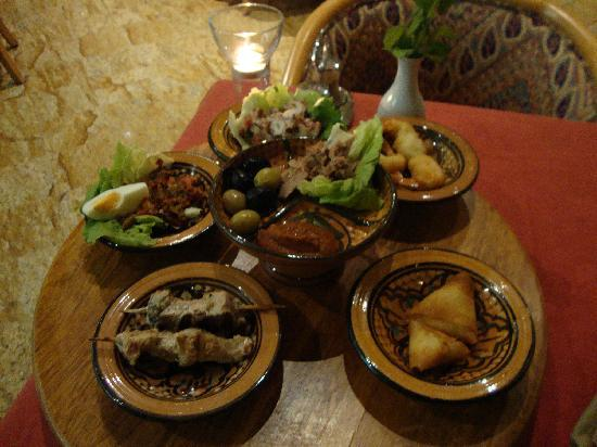STEIGENBERGER Kantaoui Bay: plat du restaurant tunisien