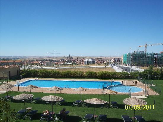 foto de hotel candido segovia piscina tripadvisor