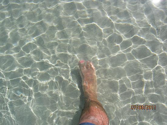Camping Golfo di Sogno: l'acqua di S. Cipriano