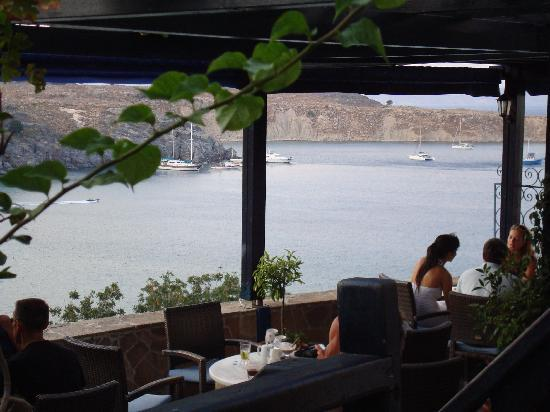 Hotel Lindos View: View from Rainbow bird bar