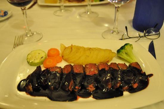 C'an Olga: piatto principale:anatra