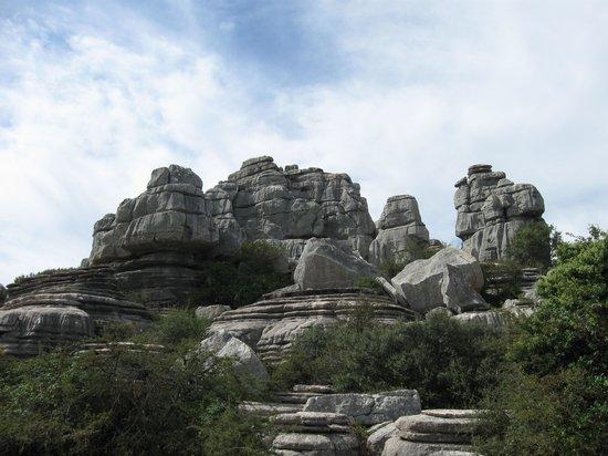 Paraje Natural Torcal de Antequera: Torcal rock formations.