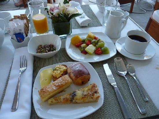 Hotel Belvedere: A selection from the buffet breakfast