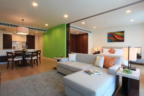 Angsana Villas Resort Phuket: 1Bedroom Suites Living area
