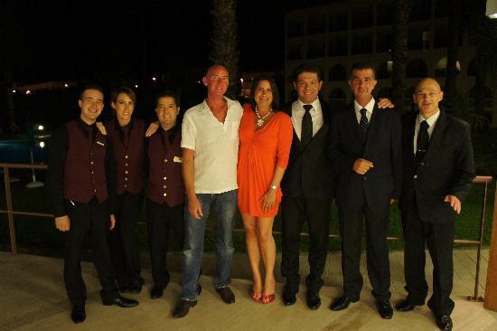 Carlos V Hotel: Staff