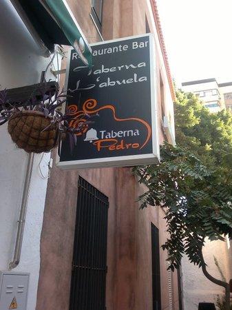 La Taberna de la Abuela: Muy íntimo