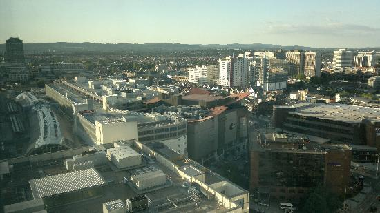 Radisson Blu Hotel, Cardiff: View from the window on 21st floor