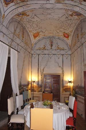 Castello Costaguti: Salottino della Cena