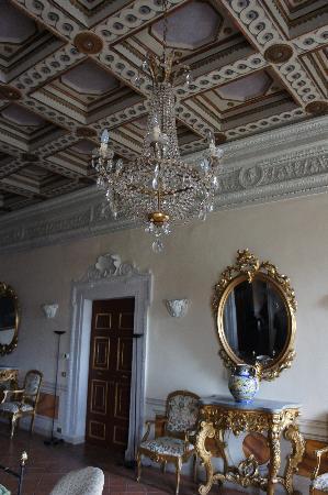 Castello Costaguti : Salone