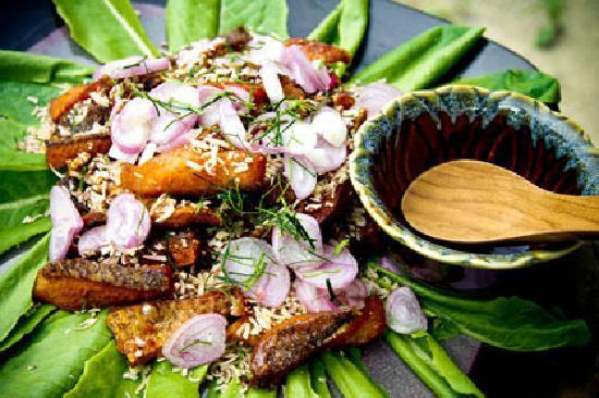 La Maison Du The Restaurant Dakhla: Poulet Thai