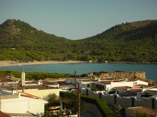 Mar Azul PurEstil Hotel & Spa: Cala Agulla dalla camera del Mar Azul
