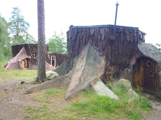 Norrqvarn Hotell & Konferens: The small stump in the front and the large stump in the back