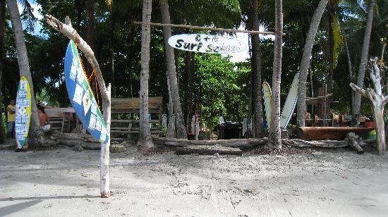 Samara Tree House Inn: C&C surf school next door