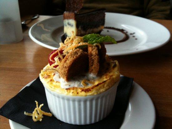 The Bison Restaurant: Lemon Souffle