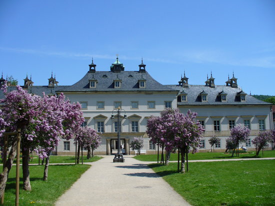 Dresden, Germany: Palace and gardens
