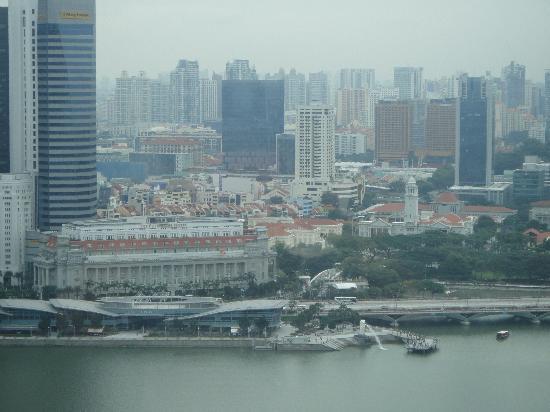 Marina Bay Sands: Вид из окна