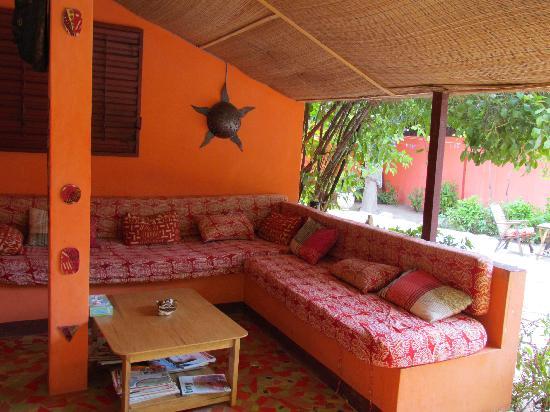 Baobab Belge: lounge area