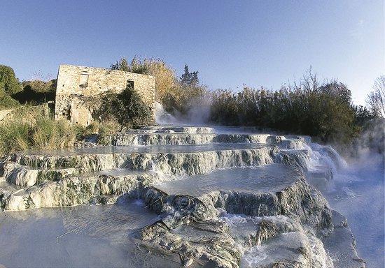 I Giardini Pensili B & B: Le acque termali - Saturnia