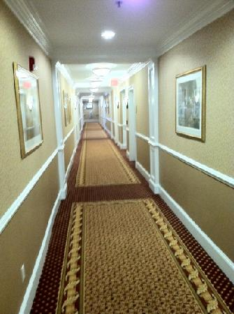 The Wilshire Grand Hotel: hallway