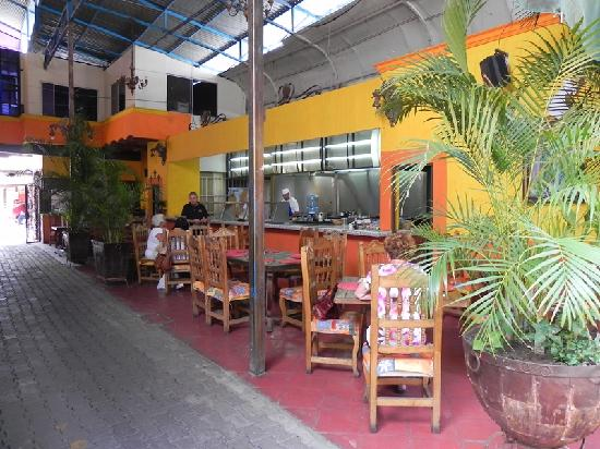 Tonala, Mexiko: Restaurant interior