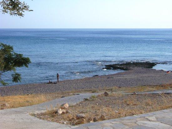 Palm Bay Hotel: Beach At Palm Bay Pefkos Rhodes