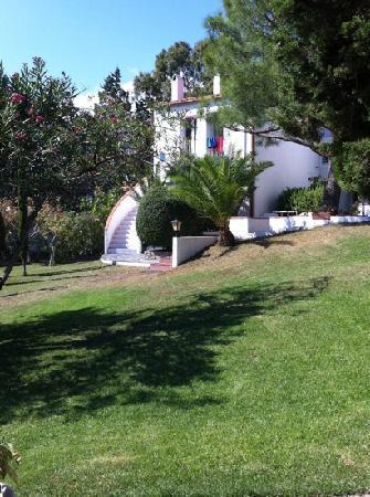 Hotel Misty: vu du jardin
