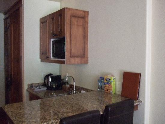 Tivoli Lodge : Mountain view room - kitchenette