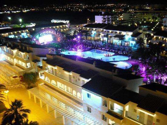 Ushuaia Ibiza Beach Hotel: View of Ushuaia from 6th Floor