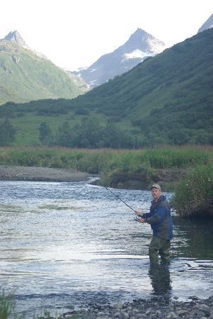 The salmon are running picture of kodiak adventures for Kodiak fishing charters