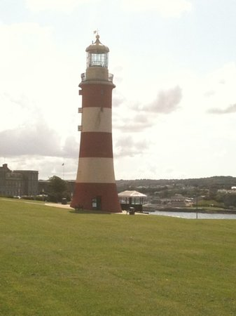 Smeaton's Tower: Take a look inside, fascinating.