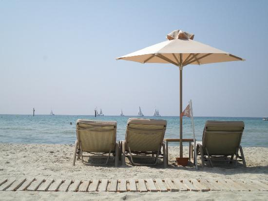 Sani Asterias: superbly relaxing beach