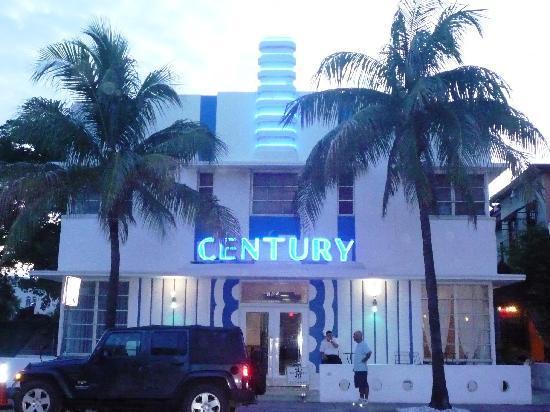Century Hotel Facciata