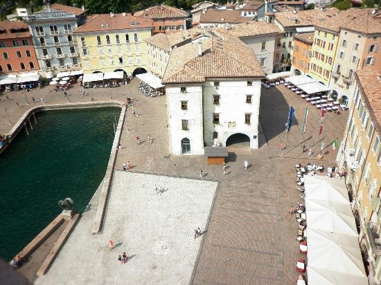 Hotel Garda - TonelliHotels: a view of Riva from the top of the Apponale Tower