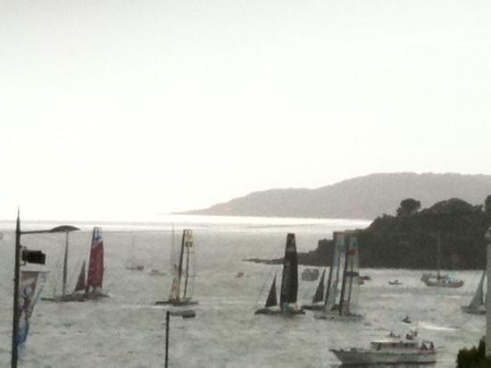 America's Cup on Plymouth Sound