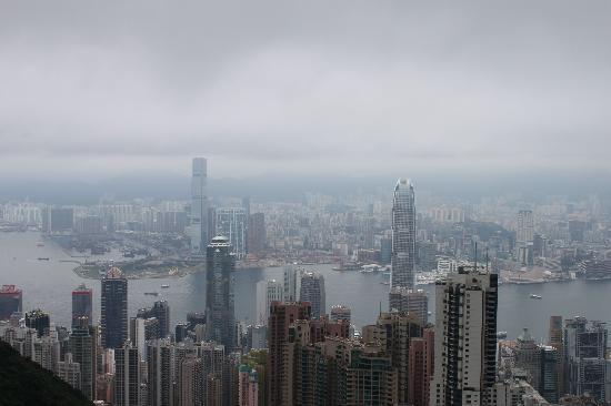 วิคตอเรียพีค (เดอะพีค): The view from the top