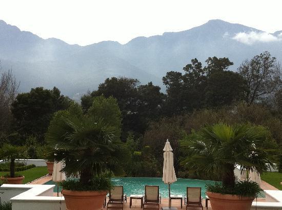 Franschhoek Manor: Mountain view