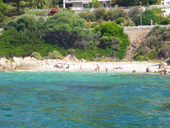 Hotel Stella di Mare : plage de sable blanc...