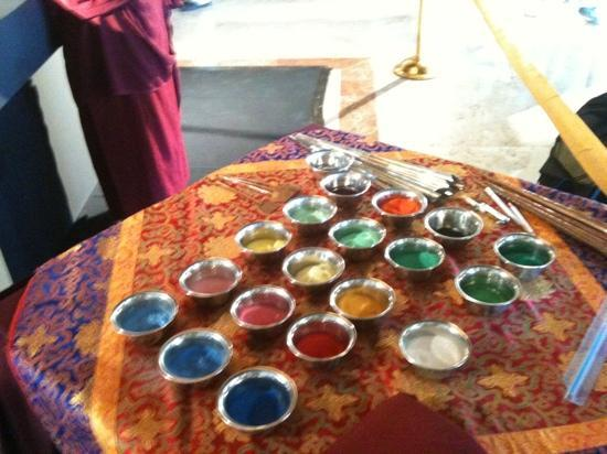 Hacienda Tres Rios: colours