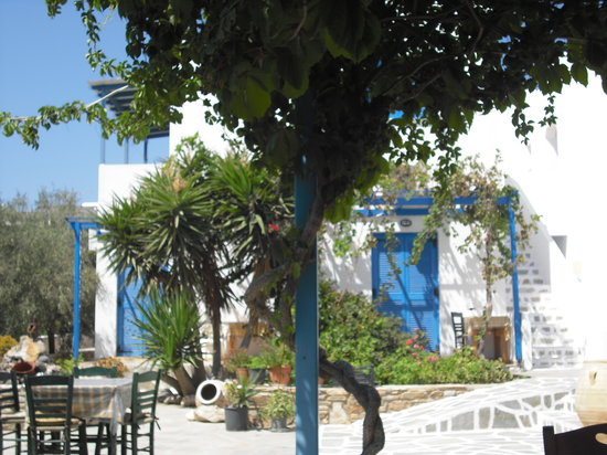 Pension Argo Restaurant: l'esterno della taverna argo
