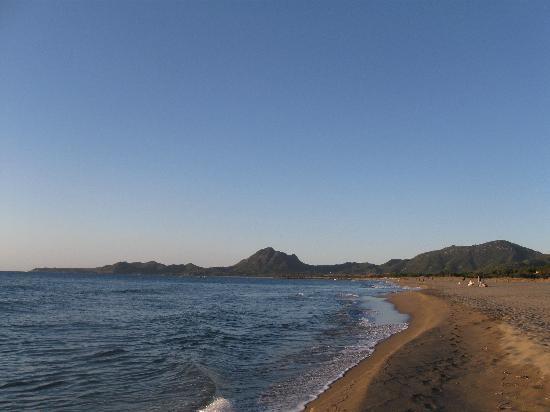 Eden Village Colostrai: la spiaggia