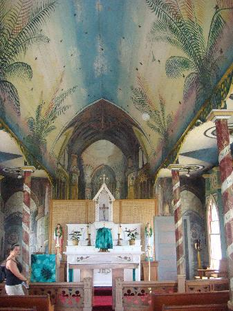 The Painted Church : l'interno dipinto