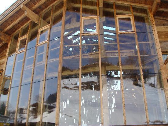 Art & Ski-In Hotel Hinterhag Saalbach : Reception Facia