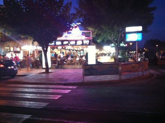 Tivoli Terrace : very good food