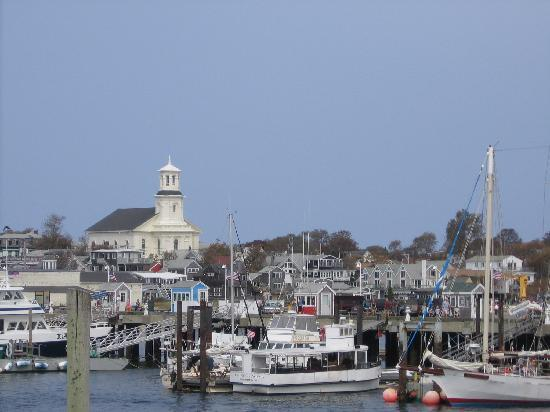 The Gaslamp Bed & Breakfast : View from Ferry dock