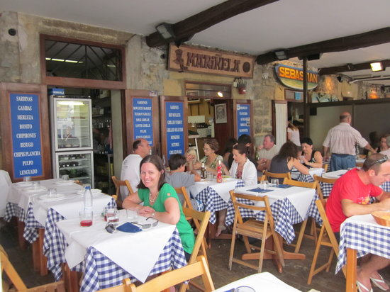 Mariñela - Igeldo: Just after lunch on the second day