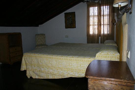 Sanlucar de Barrameda, Espagne : upper room