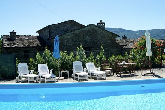 Borgo val di Taro, Italie : The pool