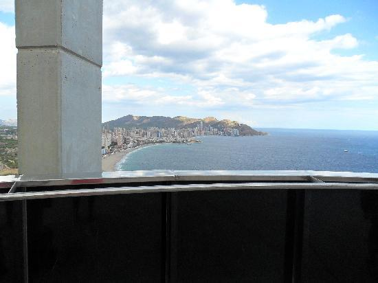 Gran Hotel Bali : View of benidorm from the observatory