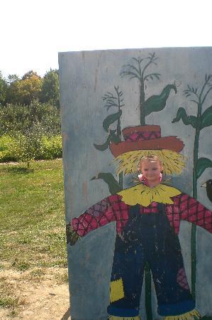 DuBois Farms: scarecrow